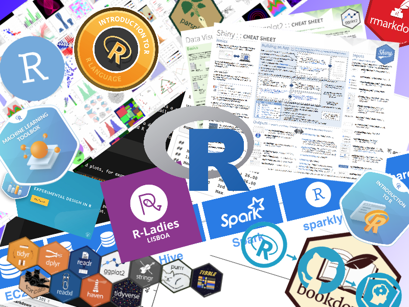 R resources (free courses, books, tutorials, & cheat sheets