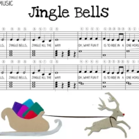 Jingle Bells in R