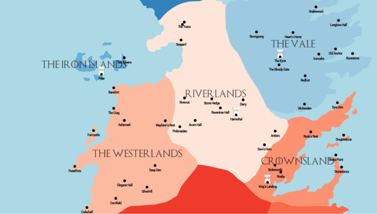 Game of Thrones: An R Map to Westeros