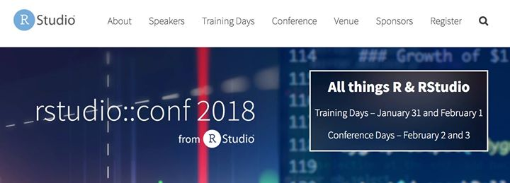rstudio::conf 2018 summary