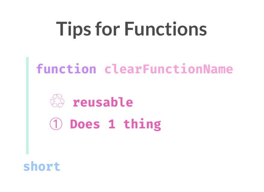 7 tips for writing cleaner JavaScript code, translated to 3.5 tips for R programming