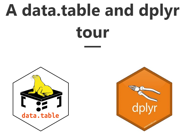 Comparison between R dplyr and data.table code