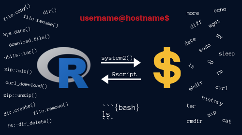 Comprehensive Introduction to Command Line for RUsers