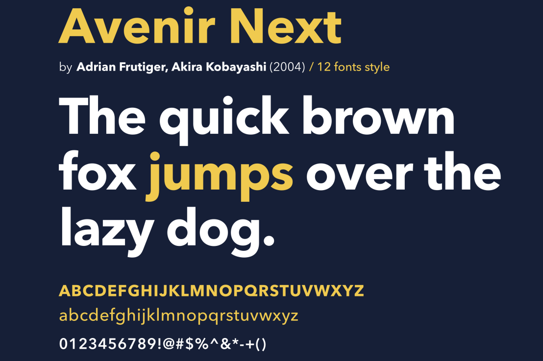 Best Geometric Fonts for Modern UI and Logo's
